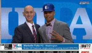 Draft NBA 2017: Markelle Fultz a Philadelphia, Butler a Minnesota