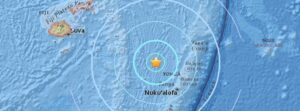 Terremoto al largo delle Fiji: scossa di magnitudo 6.2 nell'Oceano Pacifico