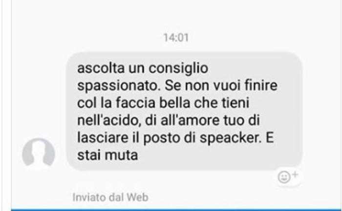 Minacce via social, speaker del Bari abbandona incarico
