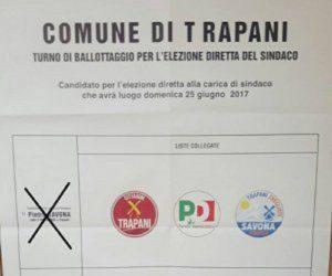 Trapani senza sindaco, commissariata. 75% astensioni (no quorum) al ballottaggio con un solo candidato
