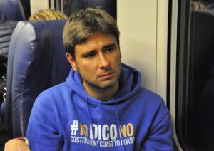 """Simone Di Stefano (Casapound): """"Alessandro Di Battista ha un animo da camerata"""""""
