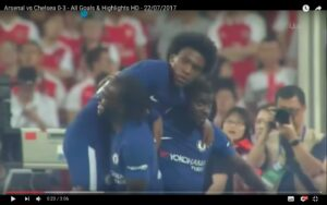 YouTube, Arsenal-Chelsea 0-3: Antonio Conte distrugge Wenger