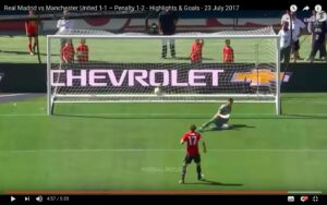 YouTube. Real Madrid-Manchester United 2-3 (rigori video) highlights: Blind decisivo (International Champions Cup)