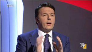 "Matteo Renzi cita latino e sbaglia, Enrico Mentana lo corregge: ""Amor vincit omnia"""