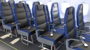 Aerei, vogliono ridurre spazio sedili. Già ora (43 per 75 cm) meno che per gli animali