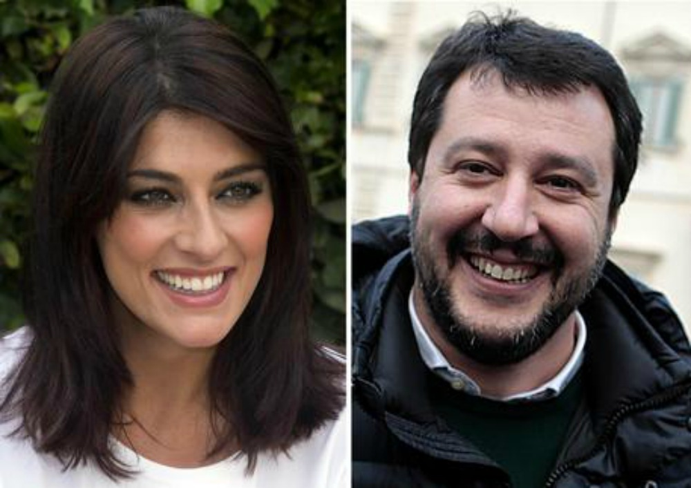 Cortina galeotta, Salvini e Isoardi di nuovo insieme