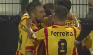 YOUTUBE Coppa Italia, Pro Vercelli-Lecce 1-2: gol e highlights