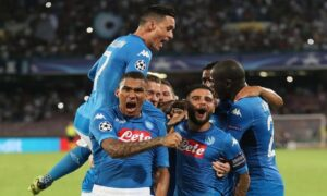 YOUTUBE Napoli-Nizza 2-0, Martens e rigore Jorginho VIDEO, GOL E HIGHLIGHTS