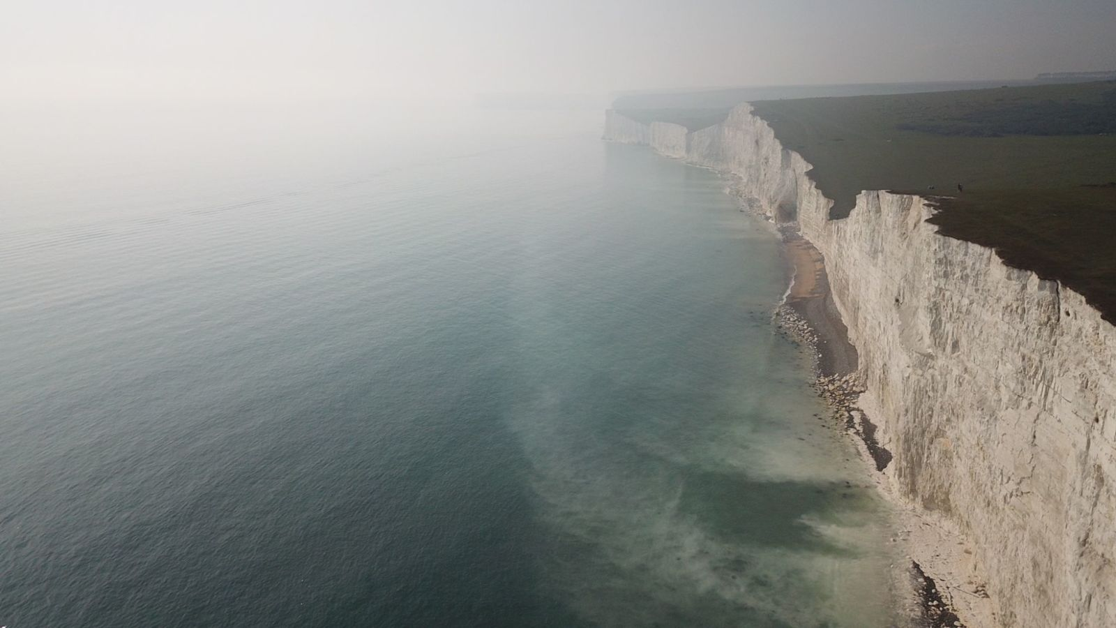 Nube tossica dal mare, 150 all'ospedale in Gran Bretagna