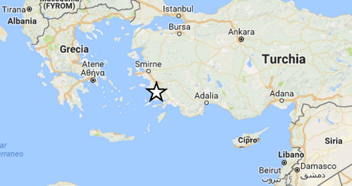 Nuova scossa di terremoto tra Kos e Bodrum, magnitudo 5.0