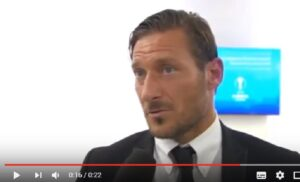 "Francesco Totti: ""Schick ha risposto. Non so cosa, era in inglese..."""
