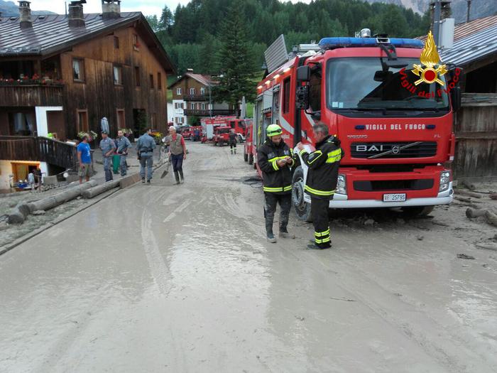 Maltempo, Bomba d'acqua a Cortina: un morto