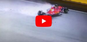 YOUTUBE F1 Gp Singapore, incidente al via: ritirati Vettel, Raikkonen, Verstappen