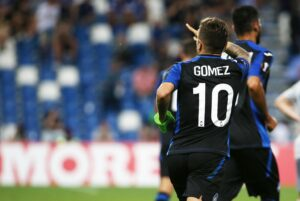 Atalanta da sogno in Europa, 3-0 all'Everton: Gomez annienta Rooney