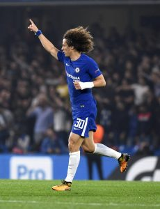 Chelsea-Roma 2-1 diretta, highlights. Kolarov-Hazard-David Luiz video gol