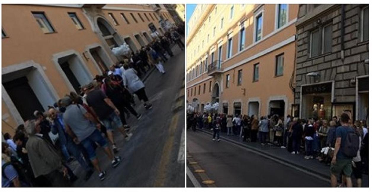 Roma apre il nuovo megastore rinascente lunghe code in for Rinascente via del tritone ristorante