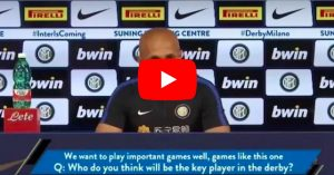 "YOUTUBE Spalletti prima di Inter-Milan: ""Icardi come Ibrahimovic"""