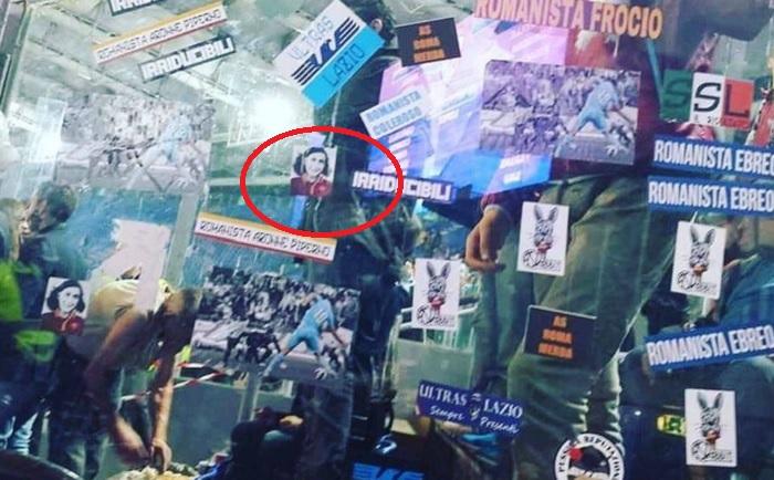 Anna Frank con la maglia della Roma: vergogna tifosi Lazio