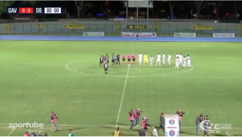 Gavorrano-Viterbese Sportube diretta live streaming ecco come vedere la partita