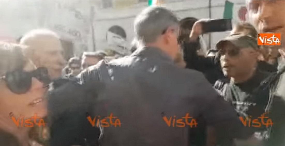 Vittorio Di Battista, rissa sfiorata con il leader dei Forconi Pappalardo