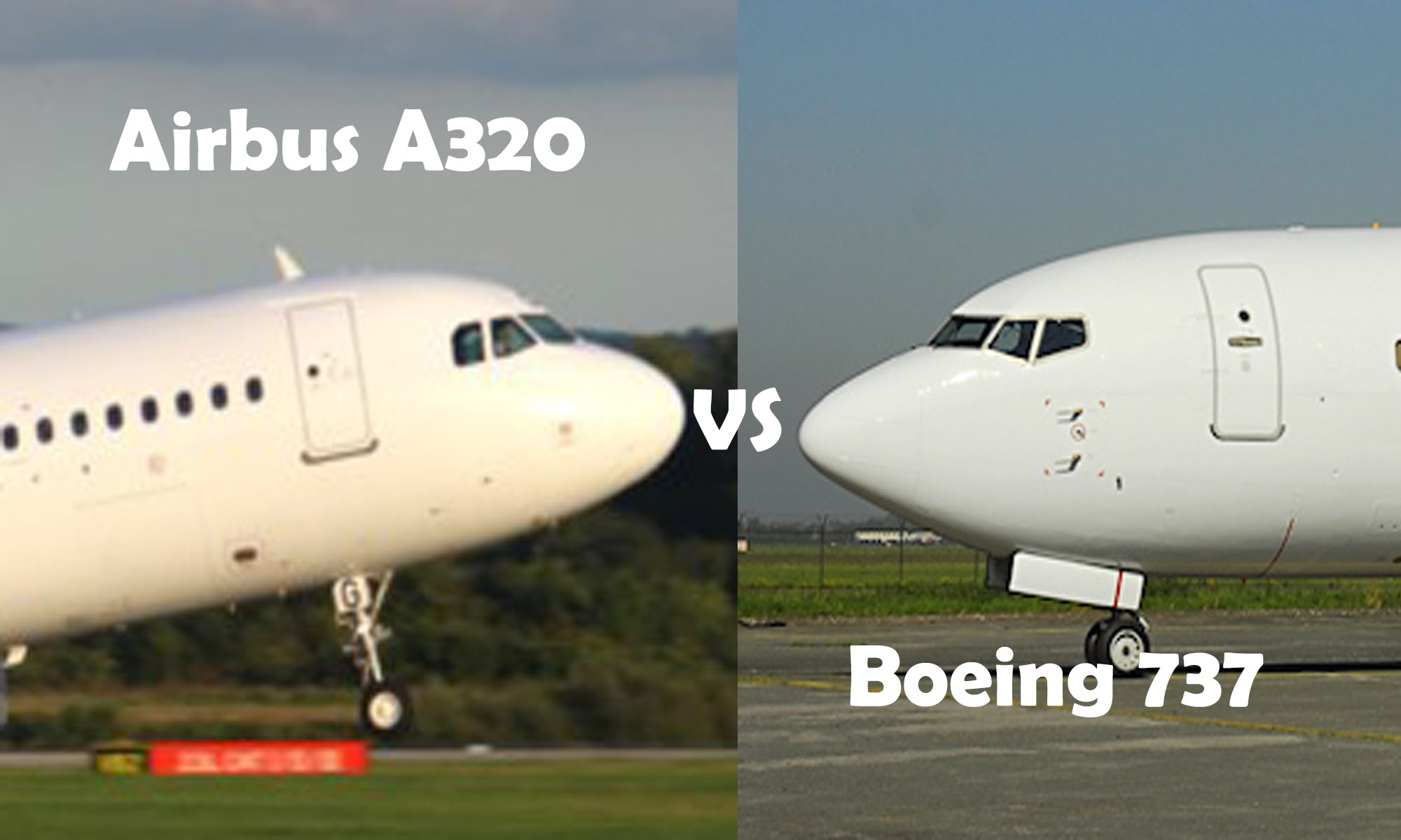 Competition between Airbus and Boeing