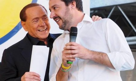 Berlusconi-sgambetto-Salvini