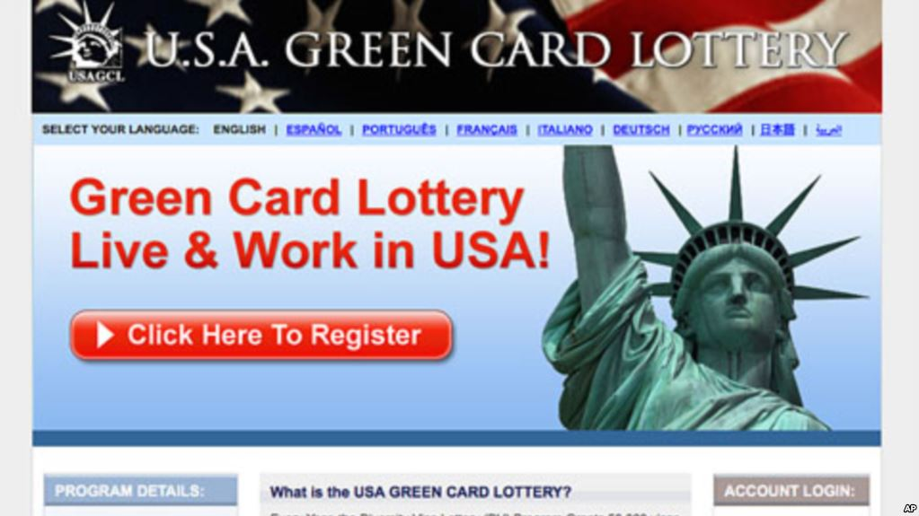 lottery to get green card