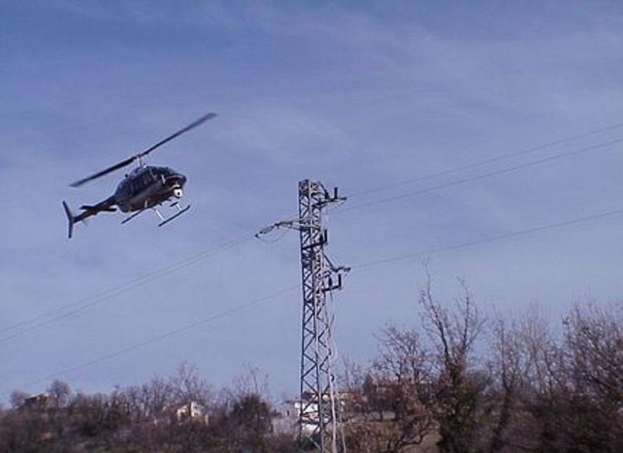 Elicottero Privato : Bergamo cade elicottero privato due feriti in gravi