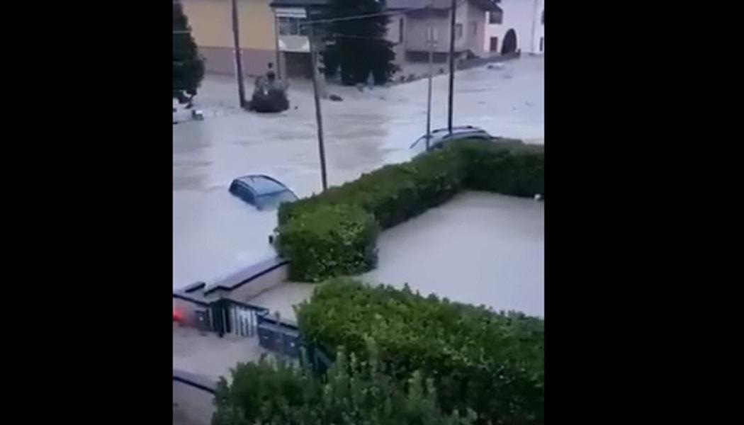 Esonda l'Enza, collegamenti interrotti tra il Basso Mantovano e Parma