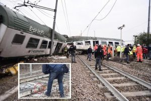 pioltello incidente treno
