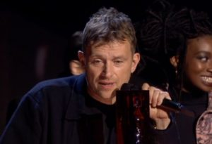 Damon Albarn gorillaz brit awards