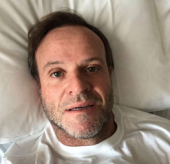 Barrichello ricoverato in ospedale: guai di salute per l'ex ferrarista