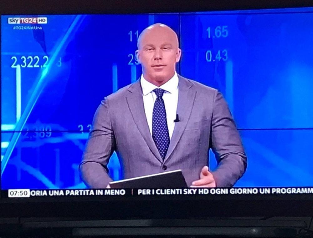 È morto a 38 anni Federico Leardini, giornalista di economia di SkyTG24