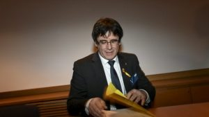 Puigdemont fermato in germania