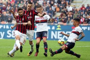 Genoa-Milan streaming - diretta tv, dove vederla