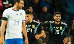 Argentina-Italia 2-0 highlights e pagelle: Banega e Lanzini in gol