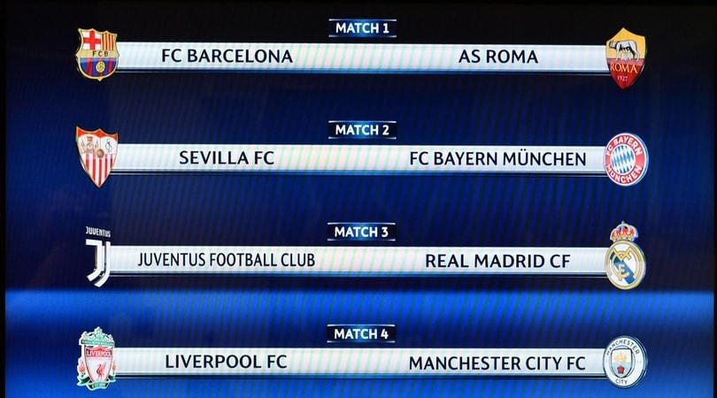 Calendario Champions Quarti.Calendario Quarti Champions Juventus Real Madrid