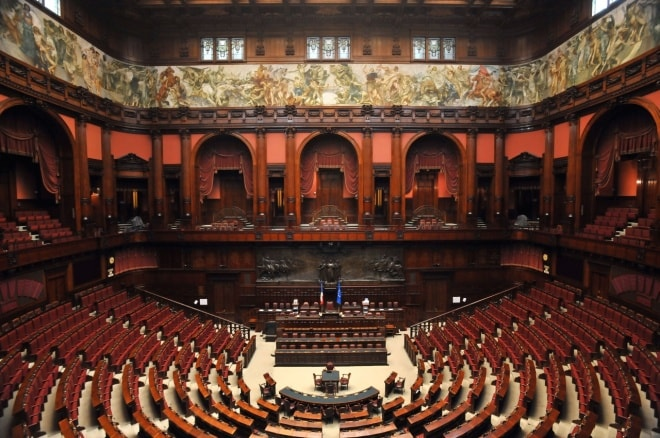 Elezioni 2018 risultati camera seggi voti percentuali for Tv camera deputati