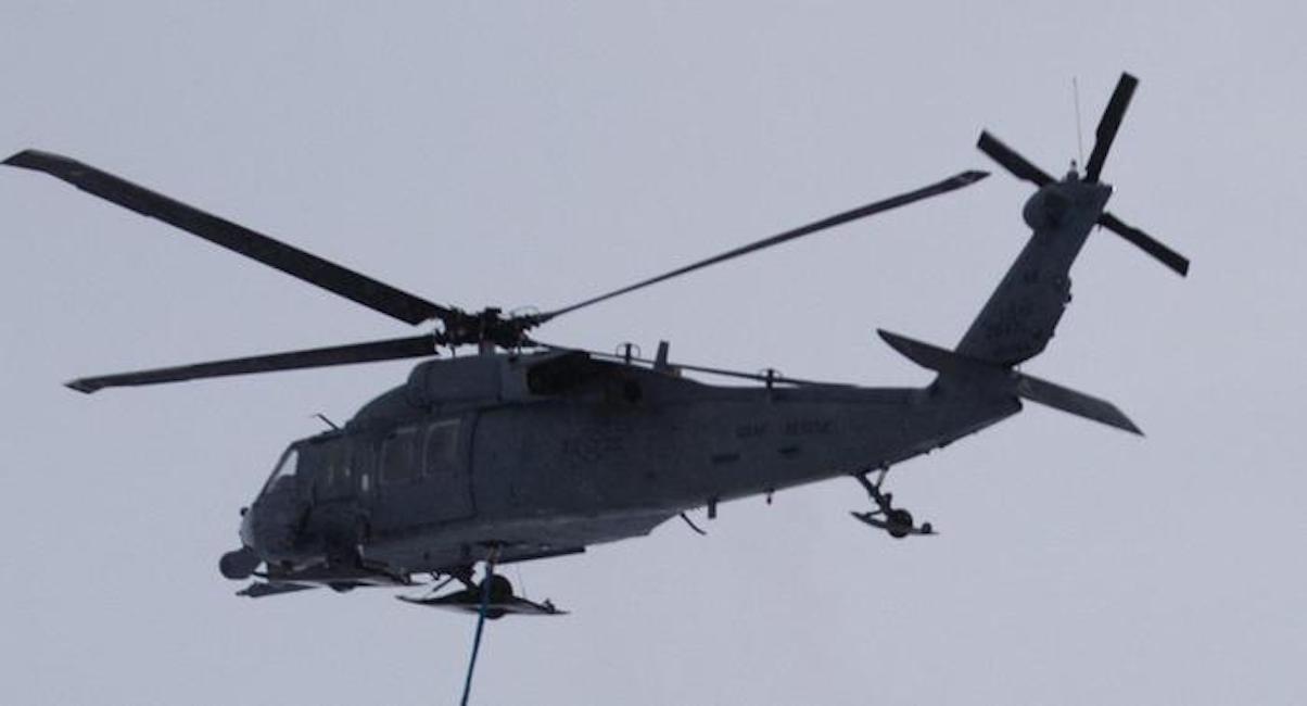 Elicottero Usa : Iraq elicottero militare usa precipita vicino confine con