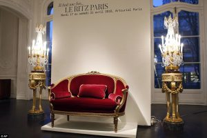 I tesori dell'Hotel Ritz all'asta a Parigi