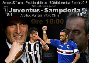 Juventus-Sampdoria diretta highlights pagelle