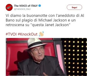 The Voice of Italy: Al Bano parla di Michael Jackson