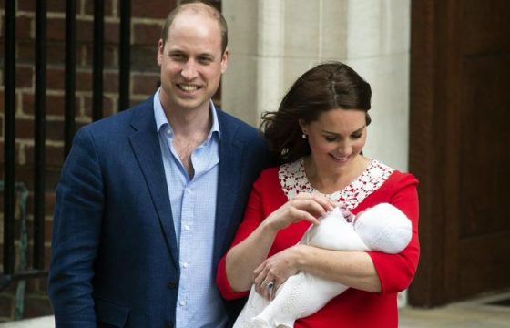 Kate e William presentano il terzogenito