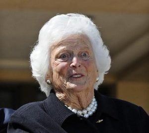 E' in fin di vita l'ex first lady Usa Barbara Bush