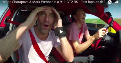 YOUTUBE Maria Sharapova terrorizza Mark Webber al volante