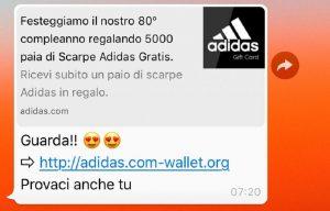 adidas whatsapp 5000 scarpe