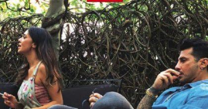 """Belen Rodriguez e l'incontro con Fabrizio Corona: """"A Fabri non rinuncio"""". Silvia Provvedi: """"Ora tutta Italia..."""" (la foto pubblicata dal settimanale Chi)"""