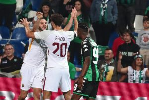 Sassuolo-Roma 0-1 highlights e pagelle Manolas gol decisivo