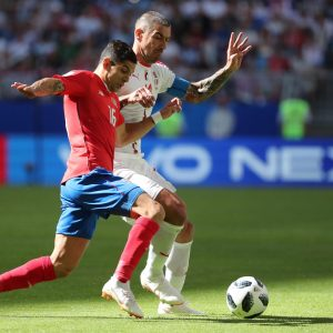 Costa Rica-Serbia 0-1 highlights-pagelle, Kolarov gol su punizione