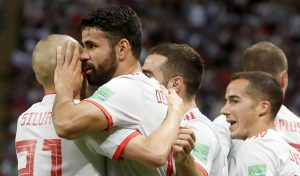 Iran-Spagna 0-1 highlights-pagelle, Diego Costa video gol decisivo